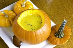 Make a Savory Pumpkin Soup Recipe for Samhain!: Savory Pumpkin Soup Recipe for Samhain Looking for Samhain recipes and cooking information? Here are all kinds of Samhain feast ideas, including the famous Ghost Poop dessert! Halloween Tags, Samhain Halloween, Wicca Recipes, Samhain Recipes, Samhain Ritual, Blessed Samhain, Hot Buttered Rum, Gourmet Recipes, Soup Recipes