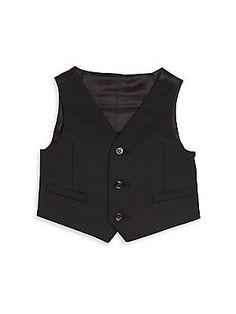 Dolce & Gabbana Baby's Three-Button Vest