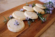 Lavender Rosemary Shortbread from Home Is Where the Boat Is