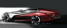 Dodge Concept Design Sketches by Malcolm Moorer from Cleveland Institute of Art