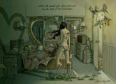 The Narrative Illustrations of Chiara Bautista (aka Milk) // The Dancing Rest