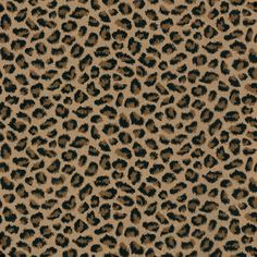 Leopard print wallpaper — how fabulous! Do an accent wall, or paper the whole room. You won't be sorry!