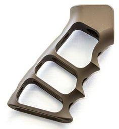 Tactical Dynamics LLC Skeletonized Aluminum Grip -  FDE