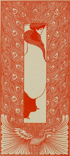 Design by Will H. Bradley from The Modern Poster (1895)