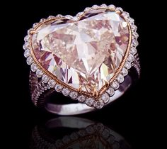 Jewelry Stores, Jewelry Box, Ring Watch, Heart Shaped Diamond, Dream Ring, Heart Shapes, Jewelry Collection, Fancy, Glitters