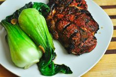 Spice Rubbed Pork Chops - Of course, use organic pork chops! Perfect for the grill or in the oven! #soyfree #glutenfree