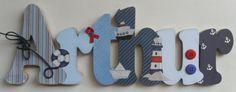 Nome+decorado+em+MDF+e+Scrap+personalizado+para+decoração+de+quarto,+porta+maternidade,+festas...+Tema+e+cores+a+sua+escolha R$ 85,80