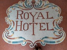 Tile in the Wild Wednesdays are back! We're kicking things off with this beautiful unglazed porcelain mosaic spotted by a member of our sales team at the Royal Hotel in Henley-on-Thames, England. Henley On Thames, Tile Design, Mosaic Tiles, Craftsman, Porcelain, England Uk, Architects, Inspiration, Designers
