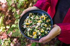 Taboulé «boosté» – Savourer par Geneviève O'Gleman Couscous, Breakfast Salad, Valeur Nutritive, Nutrition, Vegetable Recipes, Kale, Acai Bowl, Salads, Lunch Box