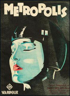 Film poster for Metropolis
