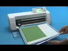 Applique Pattern to Scan N Cut How-To Blow-Apart - YouTube