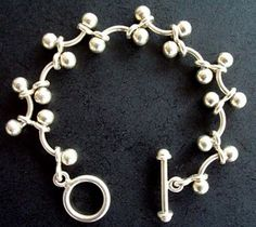 Silpada Sterling Silver Toggle Bracelet Contemporary