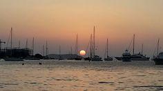 Sunset San Antonio Bay #patiencegin #sanantonio #ibiza #sunsetthrumylens