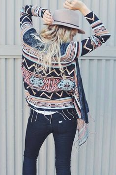 This fall is all about patterns #festivalfashion