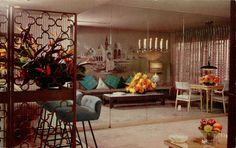 Vintage Hotel Sahara suite, Las Vegas, Nevada.