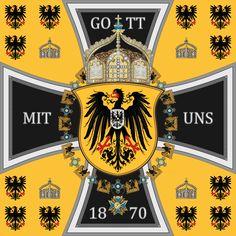Stander des Deutschen Kaisers, des Obersten Kriegsherrn