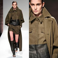 FALL/WINTER 2012 TREND: MILITARY - FASHION IMPERATIVE