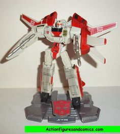 Transformers Titanium JETFIRE war within cybertron complete die cast 6 inch series
