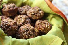 Paleo Pumpkin Zucchini Muffins Recipe with Streusel Topping Recipe