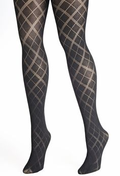 I love this pattern for my hose. And since these are on sale for looks like i can finally replace my holey ones lol Nylons, Black Pantyhose, Black Tights, Bustiers, Thigh High Socks, Thigh Highs, Patterned Tights, Stocking Tights, Black Stockings