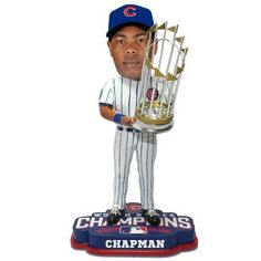 Aroldis Chapman Chicago Cubs 2016 World Series Bobbleheads