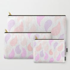 Ice-cream drops Carry-All Pouch by Itsme.emi | Society6