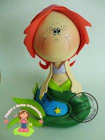 Pingos e Gotas: Fofuchas Princesas Disney e Fofucho Flynn - muitas!!!