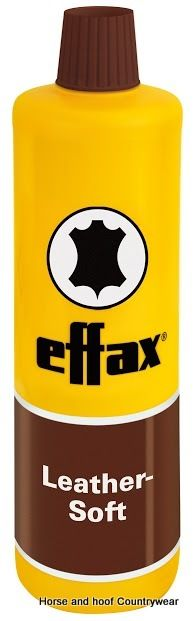 Effax Leather Soft 500ml As a result of the special mixture of lanolin and avocado oil the leather becomes supple tear-proof and soft Beeswax