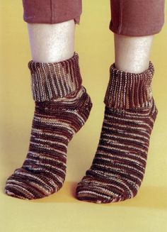 Maggie's Crochet · Loom Knitting Socks #knit #pattern #loom #socks #cute…