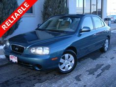 2001 Hyundai Elantra GLS - SOLD -http://www.applechevy.com
