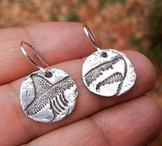 """Love them! Constant complements the first day I wore them out. Good quality. Very happy with purchase!"" #5StarReview of Sterling Silver Shark Earrings by HappyGoLicky www.HappyGoLickyJewelry.com"