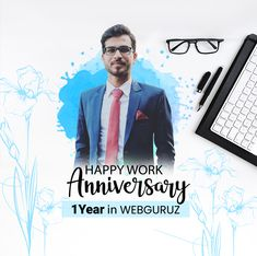 Congratulations, Deepak Soni on your work anniversary! . We appreciate your energy, your kindness, and all the work you do. Continue to climb new heights with your hard work, zeal and commitment. . Wishing you a happy work anniversary. . #WorkAnniversary #Congratulations #CoworkerAppreciation #Congrats #webguruz #India