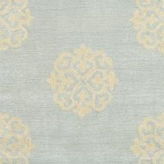 @Overstock - This floor rug has a light blue background and displays stunning panel colors of cream and light blue.http://www.overstock.com/Home-Garden/Handmade-Soho-Medallion-Light-Blue-N.-Z.-Wool-Runner-26-x-10/5042565/product.html?CID=214117 $134.99