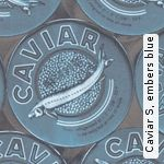 Tapete: Caviar S, embers blue - TapetenAgentur