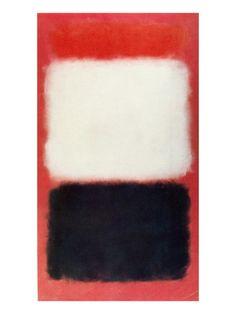 Rothko: Black & White Art Print at AllPosters.com
