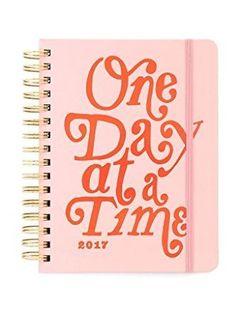 Ban.do Medium Agenda, One Day At A Time by Bando ❤ Ban.do Designs LLC