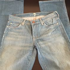 7 FAMK Jeans Light wash boot cut 7 for all Mankind Jeans Boot Cut