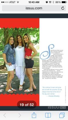 Today's Charlotte woman magazine article