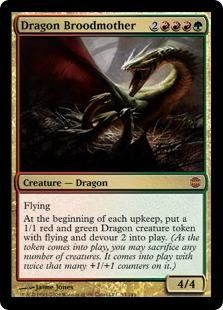Magic: the Gathering - Dragon Broodmother - Alara Reborn by Wizards of the…