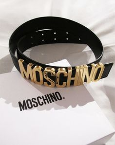 Just ordered this! Can't wait to get it so I can wear it :) #moschino #mymoschino #belt