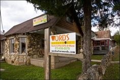 Words Afterwords Cafe, Hardy, Arkansas, one of the many old stone buildings in Arkansas