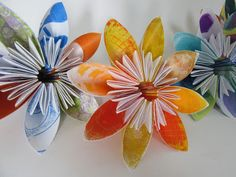Printing with Gelli Arts®: Modular Origami with Gelli® Prints!