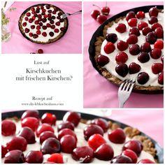 Yummie - dieses leckere Sommerrezept mit frischen Kirschen findet ihr diese Woche auf dem Blog!  #kirschen #kirsche #cherry #cherries #kirschkuchen #cherrycake #cake #kuchen #mürbteig #mürbeteig #frisch #sommer #sommerrezept #rezept #rezepte #frischekirschen #lecker Wie Macht Man, Diy Interior, Cherry, Blog, Fruit, Ginger Beard, Diy, Food Food, The Fruit