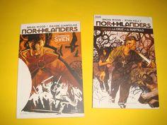 Dos comics Northlanders 2 tomos-buen estado!!