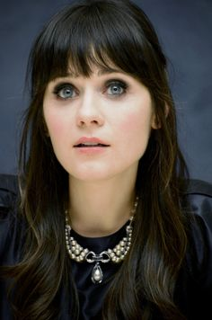 Zooey Deschanel- flawless bangs | Tumblr