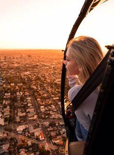 Jordyn Jones 1st Helicopter Ride with Brendan North #BTS #LA #JordynJones