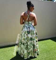 African Print Dresses, African Wear, African Attire, African Fashion Dresses, African Dress, Cute Fashion, Look Fashion, Fashion Outfits, African Inspired Fashion