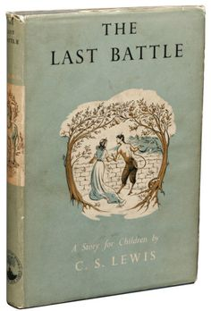 The Last Battle (final book in Chronicles of Narnia series) Reading this now...oh it's so bittersweet. Anyone else ever get torn about finishing a series?