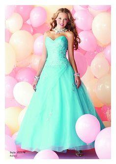 Alfred Angelo Disney Royal Ball Prom Dress 5021 at frenchnovelty.com
