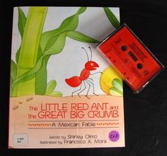 Little Red Ant & the Great Big Crumb Audio Book & Cassette Set Mexican Fable